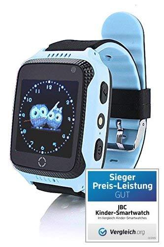 JBC GPS Uhr Kinder Telefon GPS Schulmodus SOS Notruf Smartwatch Kinder Kinderuhr...