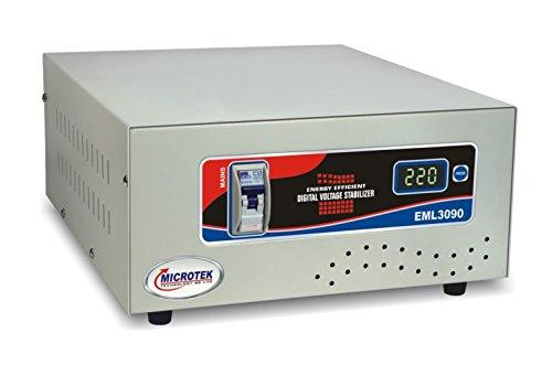 Microtek EML 3090 90V - 300V Voltage Stabilizer for Mainline, Pack of 1