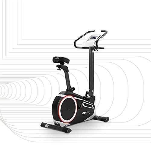 SportPlus Heimtrainer Fahrrad für zuhause, Kinomap-App, Ergometer ideal für Heimtraining, 24...