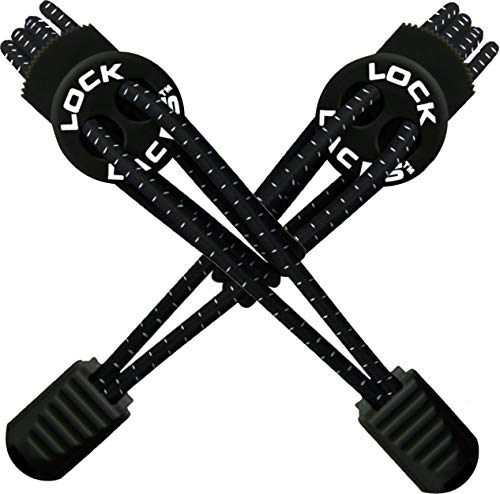 結ばない靴紐 LOCK LACES 全米売上No.1(正規代理店)(Black)