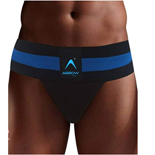 Arrowmax Best in Class Sports and Fitness Abdominal Supporter (Black, X-Large)