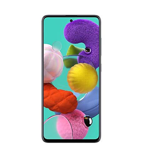 Samsung Galaxy A51 Factory Unlocked Cell Phone   128GB of Storage   Long Lasting Battery   Single SIM   GSM or CDMA Compatible   US Version   Black