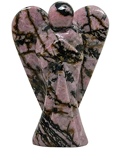 Nelson Creations, LLC Rhodonite 2 Inch Hand-Carved Guardian...