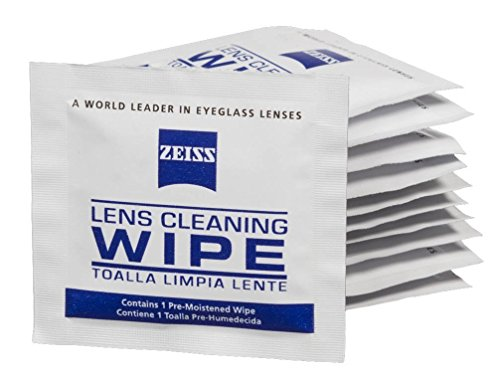 Zeiss Pre-Moistened Lens Cloths Wipes (100CT) by Zeiss