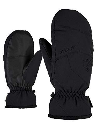 Ziener Damen KARRIL GTX MITTEN lady glove Ski-handschuhe/Wintersport | Wasserdicht, Atmungsaktiv, black, 7,5