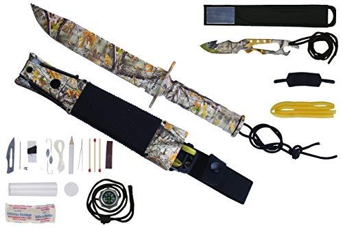 Maxam Mossberg Survival Knife (Camo)
