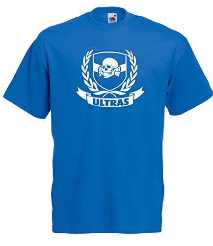 Settantallora - T-shirt Maglietta J1766 Stemma Ultras Brescia Taglia L
