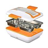 Boîte à Lunch Électrique Taille XL Détachable,Boîte à Lunch pour le Chauffage Portable avec Conservation des Aliments,Trois Couches de Nourriture...