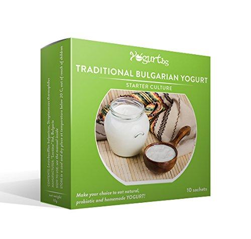 El cultivo para preparar Tradicional Yogur Bulgaro en casa -