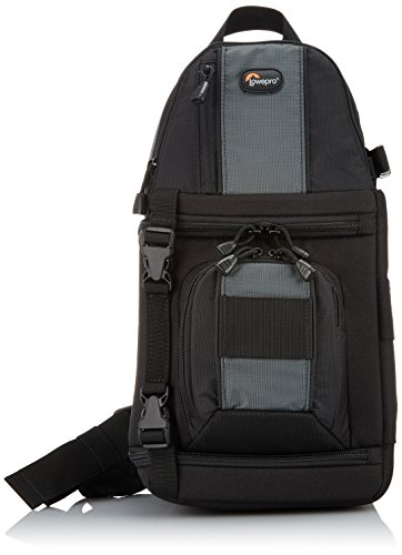 【国内正規品】Lowepro スリングバッグ/ワンショルダー スリングショット 202 AW 8.8L レインカバー 三脚取付可 ブラック 361739