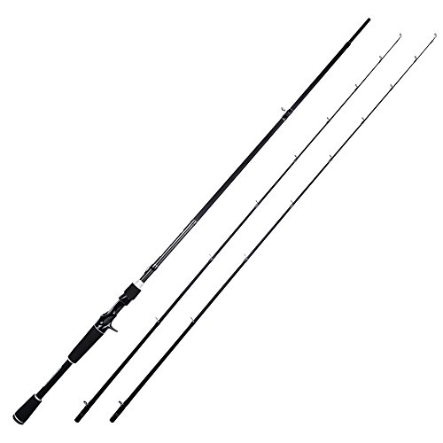 KastKing Perigee II Fishing Rods, Casting Rod Twin-tip 7ft -ML and M-Fast(2Tips+1 Butt Section)
