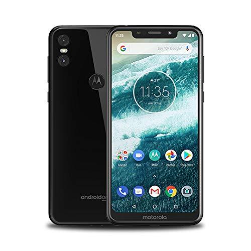 """Motorola one Lite - Smartphone de 5.9"""", 3GB de RAM, 32 GB de memoria, SIM doble,  4G, batería de 3000 mAh, cámara de 13 MP, Android 8.1, color Negro"""