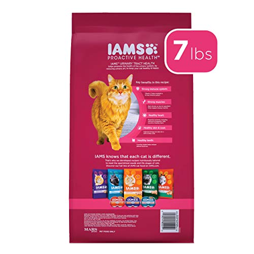 Product Image 2: IAMS PROACTIVE HEALTH Adult Urinary Tract Health Dry Cat Food with Chicken Cat Kibble, 7 lb. Bag