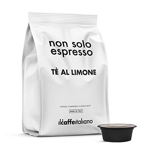 Il Caffè Italiano - 80 Capsule Te al Limone - Compatibili con Macchine Lavazza a Modo Mio - Frhome