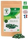 Spiruline bio | 150 comprimés | Complément alimentaire | Superaliment | Energie - Sport BCAA | Bioptimal - nutrition naturelle | Conditionnée, Contrôlée et Analysée en France | Certification Ecocert