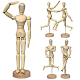 Artist Wooden Manikin Mannequin Sketching Lay Figure Drawing Model Aid Human Figure Artist Draw Painting Model Mannequin Jointed Doll