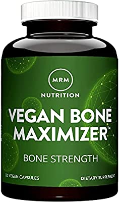 EXCELLENT SOURCE OF CALCIUM: Vegan Bone Maximizer offers an excellent source of calcium, together with other important nutrients, to build and maintain good bone health without the use of animal products. NON-GMO PROJECT VERIFIED: By sourcing only Ve...