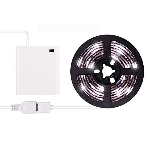 Tiras de luces LED USB o con pilas USB Juego de tiras de luz