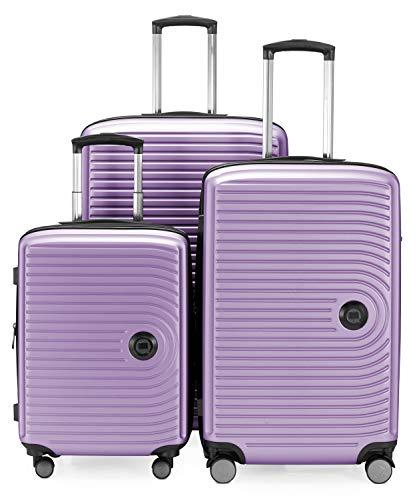 HAUPTSTADTKOFFER - Mitte Set di 3 valigie - bagaglio a mano da 55 cm, valigia media da 68 cm,...