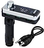 JAPAN AVE.® FMトランスミッター Bluetooth 4.2 高音質 (ATSチップ搭載) 特許工場製造 JA996 [メーカー1年保証]