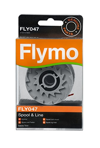 Flymo FLY047 - Testina filo semplice e filo tagliabordi, per decespugliatore Sabre Trim et Contour...