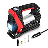 AVID POWER Tire Inflator Air Compressor, 12V DC Car Tire Pump with Fast Inflation (0-35Psi within 3mins), LED Light, Digital LCD Display, Auto Shut Off