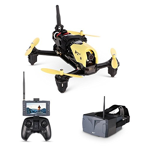 Hubsan H122D X4 Storm PRO Racer Droni Quadricotteri 720 Fotocamera 5.8Ghz FPV HV002 HS001 Goggle Occhiali da Casco 360 Filps (H122D PRO)