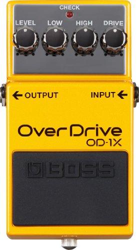 Boss OD-1X OverDrive Guitar Pedal