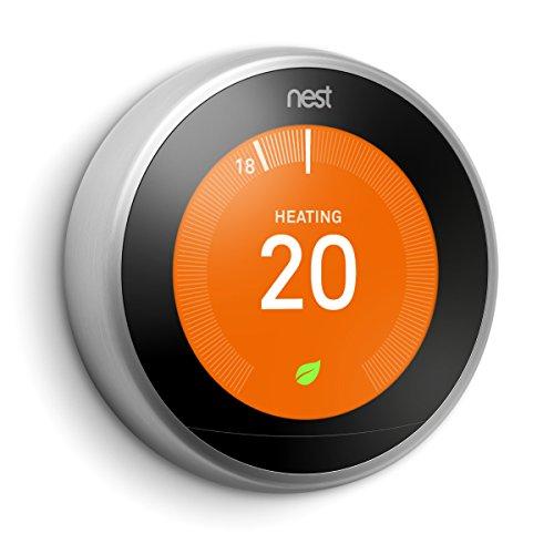 Nest Apprendre Thermostat, 3rd generation - acier inoxydable, No Installation