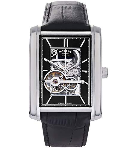 Rotary Herren Automatik Uhr Mit Leder Armband GS90520/05