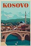 XXUREJK Puzzle en Papier 1000 pièces Prizren forteresse Kosovo Vintage...