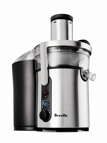 Breville BJE510XL Juice Fountain Multi-Speed 900-Watt Juicer...