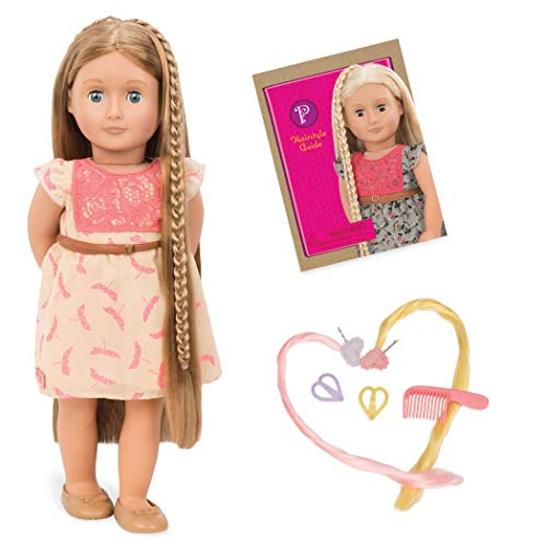 Our Generation Doll by Battat- Portia 18 Non-posable Hair Play Fashion Doll- for ages 3 and up