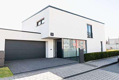 Frabox® Design Standbriefkasten NAMUR anthrazitgrau RAL 7016 / Edelstahl – Made in Germany! - 5