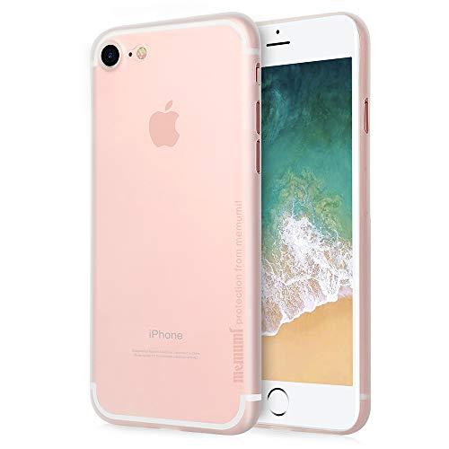 iPhone SE/iPhone 8 ケース 0.3㎜の 最薄型 最軽量 memumi PP Case アイフォン8 保護カバー 指紋防止 手触...