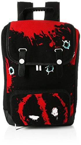 Marvel Deadpool Twelve Bullets Canvas Backpack Mochila tipo casual 45 Centimeters Rojo (Red)