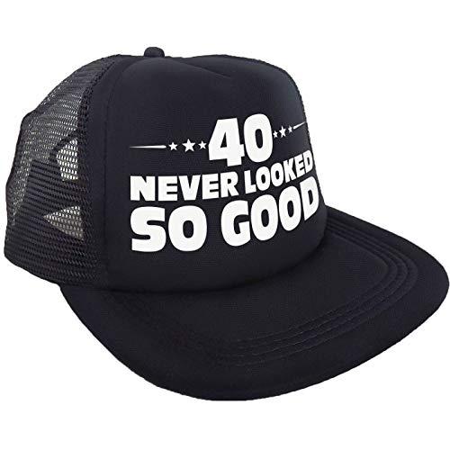 """Sterling James Co. Cappello """"40 Never Looked So Good"""" - Decorazioni, Idee e Accessori per 40° compleanno – Compleanno Divertente"""
