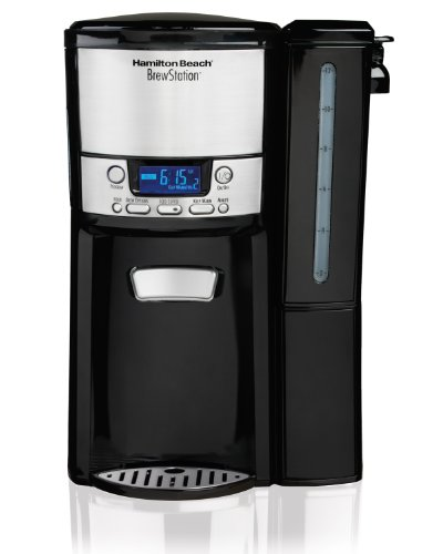 Hamilton Beach 12-Cup Coffee Maker, Programmable BrewStation...