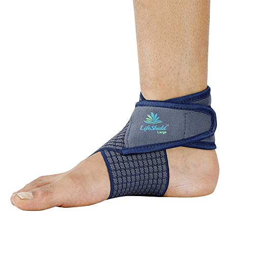 Lifeshield Ankle Binder Strap Belt: For Best Grip to Ankle While Jogging Or Sprain (X Large)