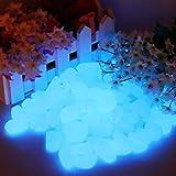 Pietre Luminosi, Ciottoli Luminosi per Passerelle, decorazione per Esterni, Acquario Serbatoio di Pesce (200 pezzi)
