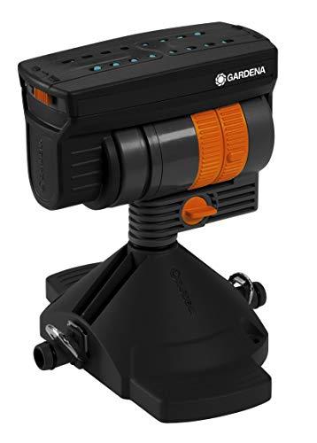 GARDENA Micro-Drip-System Viereckregner OS 90: Regner zur wassersparenden Bewässerung rechteckiger Flächen, höhenverstellbar (8364-20)
