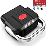 NEXPOW OBD2 Scanner Bluetooth 5.0, Car Diagnostic Scan Tool Check Engine Code Reader for Android &...