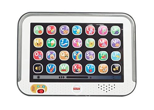 Fisher-Price CDG57 - Lernspaß Tablet Spielzeug, Kindertablet und Lernspielzeug mit mitwachsenden Spielstufen, Spielzeug ab 1 Jahr, deutschsprachig