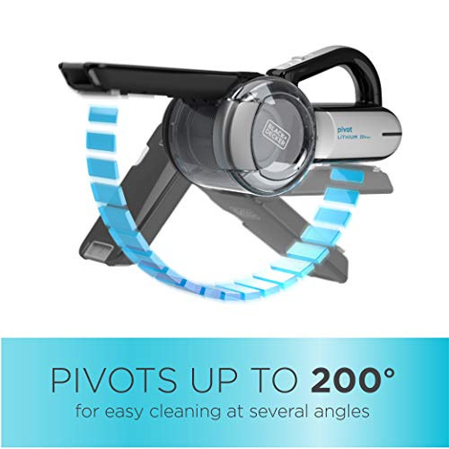 Product Image 2: BLACK+DECKER 20V Max Handheld Vacuum, Cordless, Grey (BDH2000PL)