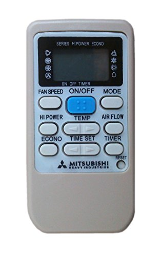 Télécommande de climatiseur Mitsubishi Heavy Industries RKS502A **d'air conditionné Système de pompe à chaleur inverter