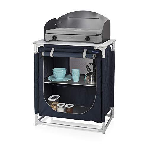 CAMPART Cucina da Esterni e Campeggio Valencia, Blu, 75 cm
