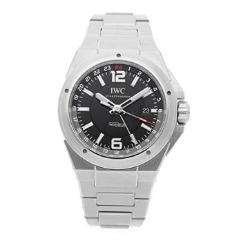 IWC Ingenieur Black Dial Stainless Steel Mens Watch IW324402