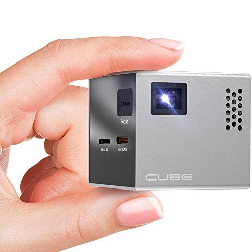 5. RIF6 CUBE Pico Portable Video Projector
