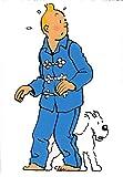 Bandes dessinées françaises Aventures de Tintin Diamant Peinture Bricolage 5D Point de...