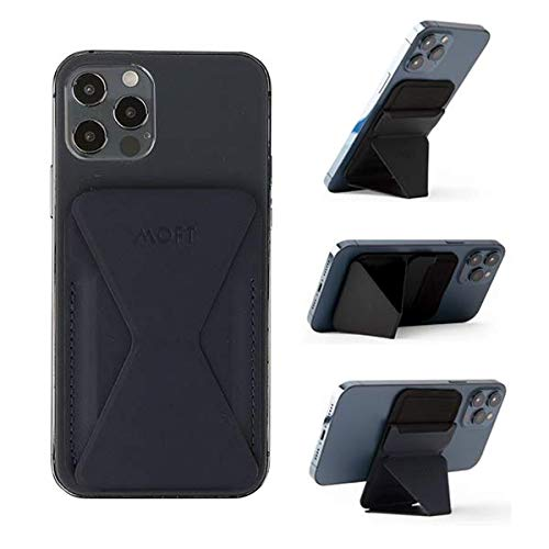 MOFT スマホ iPhone マグセーフ対応 ウォレットスタンド mag safe iPhone12 pro mini (ブルー)